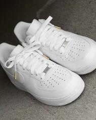Flatties white gold metal tips
