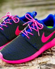 Runnies round – neon pink
