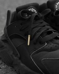 flatties black gold metal-tips