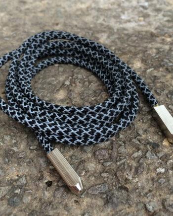 Black yeezy rope