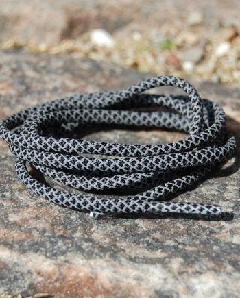 3m sort snørebånd ropes