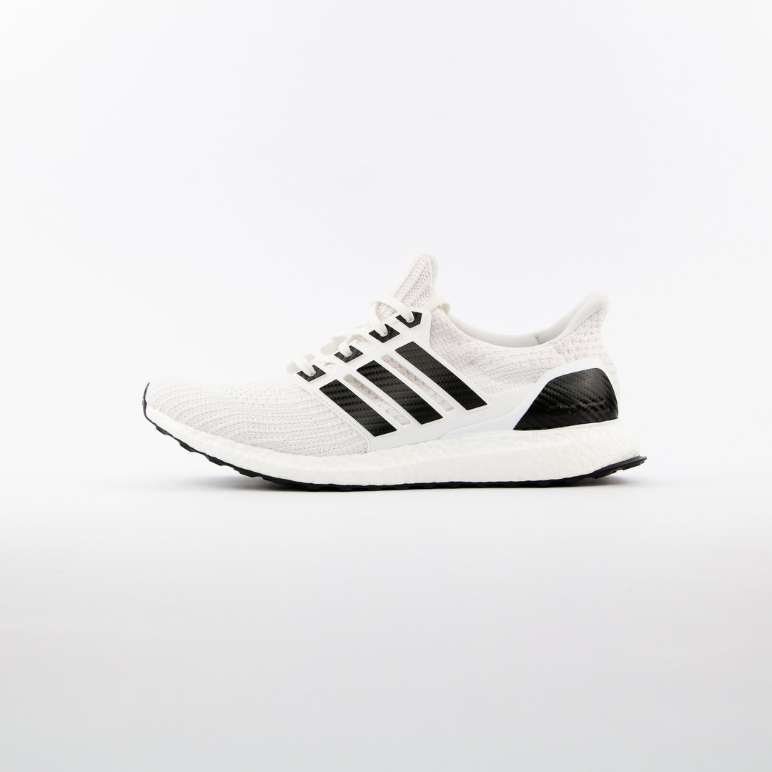Boosted Stripes Ultra Boost Sort Carbon Sneakerlaces Dk