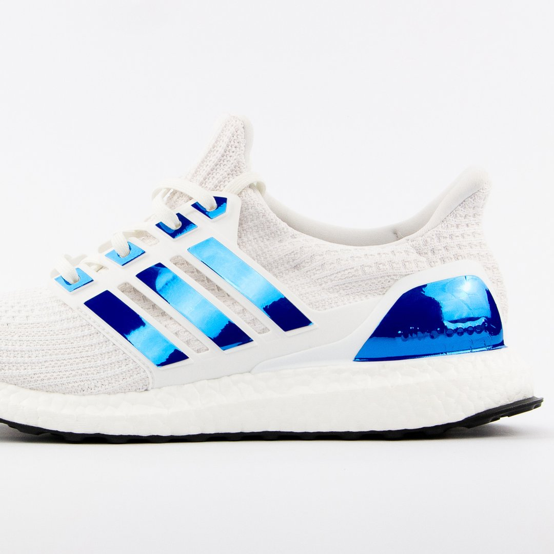 Boosted Stripes Ultra Boost Bl 229 Metallic Sneakerlaces Dk