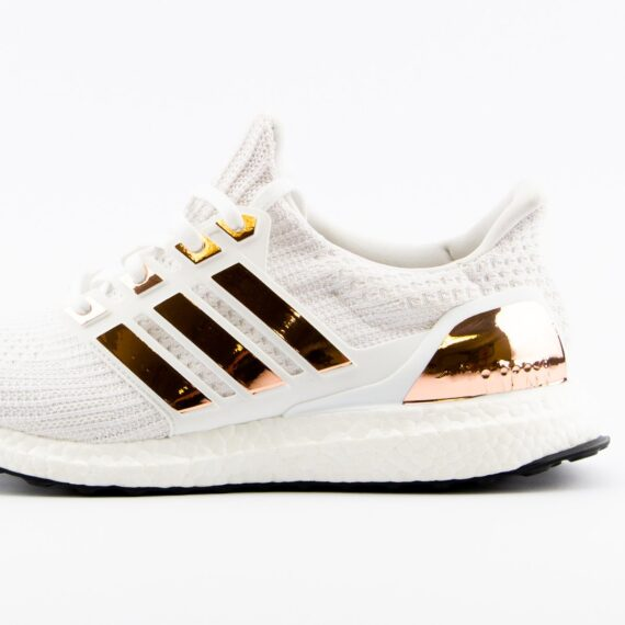 Boosted Stripes Ultra Boost Rose Gold Metallic