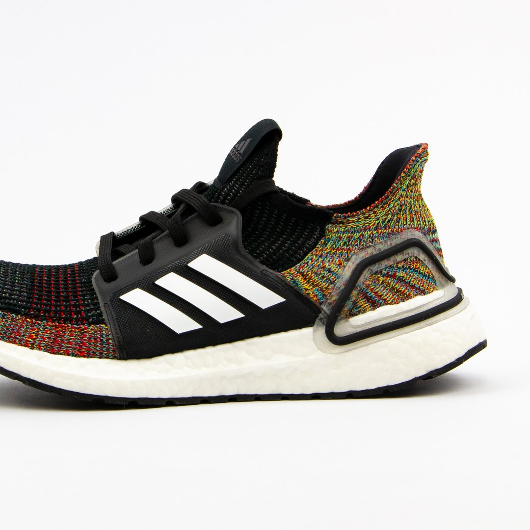 Boosted Stripes Ultra Boost 19 Hvid Sneakerlaces Dk